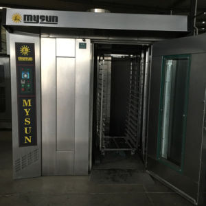 Mysun Electronic Low Consumption Bread Rotary Rack Oven for Sale pictures & photos