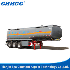 3 Axles Liquid Tank Transport Semi Trailer for Sale pictures & photos