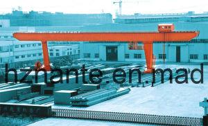 Steel Inventory Yard L-Shape Gantry Crane (MDG50T-40M-20M) pictures & photos