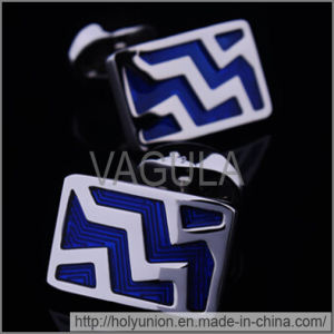 VAGULA Cuff Links Quality Enamel Cufflinks (Hlk31686) pictures & photos