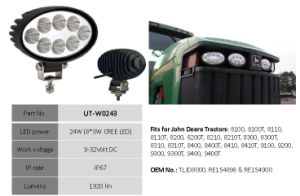 """6"""" 12V 24W CREE LED Work Light for Tractor pictures & photos"""