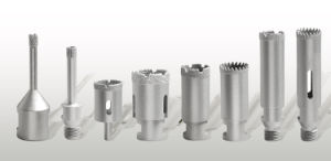 Vacuum Brazed Diamond Core Bit-Dry Diamond Core Drill Bits-Drilling Tools pictures & photos