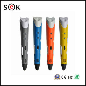 Sek Wholesale Christmas Gift Colorful Magic 3D Pen for Kids DIY Drawing pictures & photos