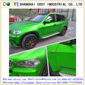 Glossy Color Chorme Changing Film, Vinyl Car Wrap Sticker with Air Bubble Free pictures & photos