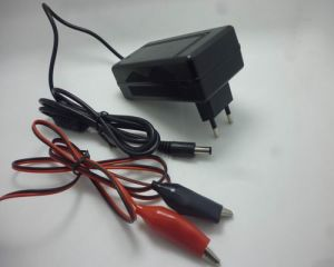 12V 1A Plug-in Type Lead Acid Battery Charger pictures & photos