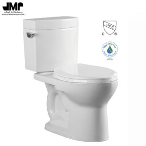 2602 Cupc Siphonic Single Flush Wc Bathroom Two Piece Ceramic Toilet pictures & photos