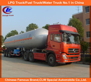 Heavy Duty 3 Axle LPG Semi Trailer BPW Axle LPG Semi Trailer 56000liters LPG Semi Trailer 58000liters LPG Semi Trailer pictures & photos