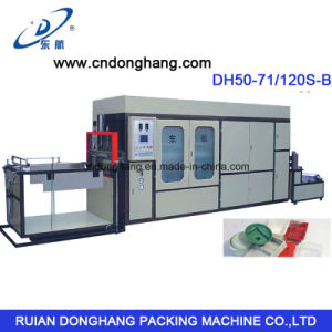 PS Lunch Tray Container Vacuum Forming Machine pictures & photos