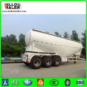 Tri Axle V Shape Bulk Cement Tanker Semi Trailer pictures & photos