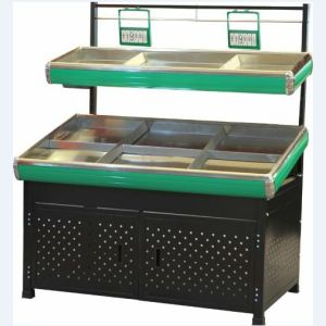 Double Layers Stainless Steel Vegetable Rack From Factory pictures & photos