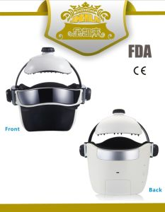 Charming Electric Wireless Head Massager (Helmet Type) , Pain Relief Apparatus