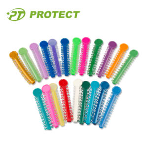 Dental Products 31 Colorful Ligaties O-Ring Ties Orthodontic Ligature Tie pictures & photos
