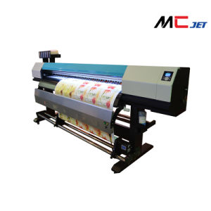 1.6m Eco Solvent Digital Inkjet Printer Machine with Epson Tx800 for Banner pictures & photos
