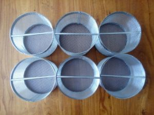 304 Stainless Steel Beer Wine Brewing Basket Filter Cylinder pictures & photos