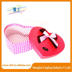 Fashion Design Printing Cardioid Paper Box