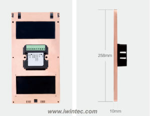 Wireless Door Plate (DSV-DP258) pictures & photos