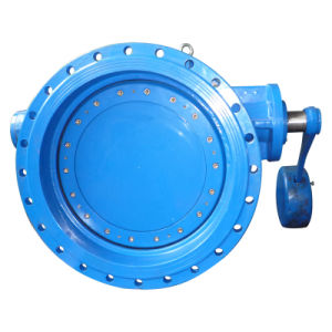 Double Flange Tilting Check Valve, with Lever and Counter Weight pictures & photos