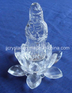 Crystal Buddha with Lotus Base pictures & photos