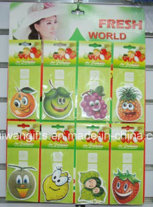 Various Fruit Shaple Paper Automatic Air Freshener (AF021) pictures & photos
