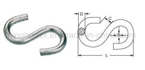 S-Hook, Zinc Plated with High Quality pictures & photos