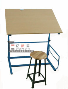 Modern Classroom Furniture Single Desk & Chair (SF-08T) pictures & photos