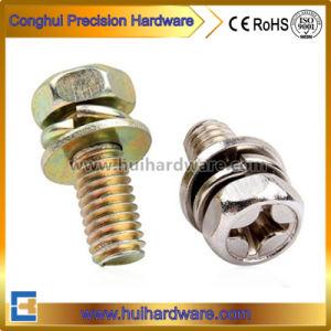 Competitive Prices Phillips Hex Head Machine Sems Screw / Steel Machine Screw pictures & photos
