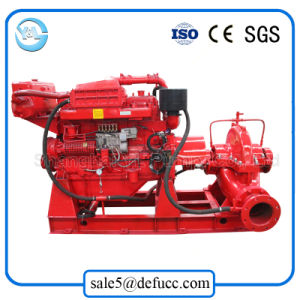 Cast Iron Single Stage Double Suction Diesel Water Pump for Pump Station pictures & photos