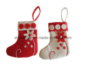 DIY Felt Decoration Christmas Decoration Felt Stocking pictures & photos