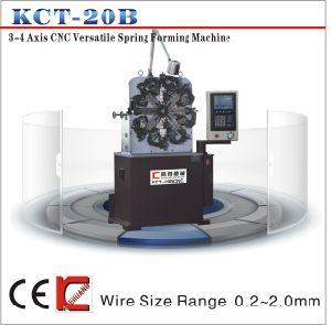 Kct-20b CNC Vesatile Compression/ Extension/ Torsion Spring Forming/ Coiling/ Making Machine pictures & photos