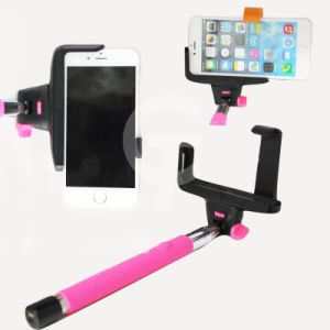 2014 New Wireless Bluetooth Mobile Phone Monopod Selfie Stick Handheld Monopod with Shutter for iPhone Ios & for Android Smart Phone