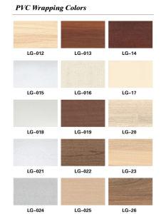 Wardrobe Sliding Door Panel WPC Wall Panel (PB-902) pictures & photos