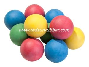Colorful 18mm Rubber Ball pictures & photos