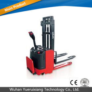 1ton 48V Electric Reach Truck with Lifting Height 1600mm pictures & photos