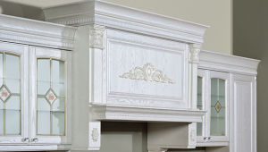 White American Style Solid Wood Kitchen Furniture (zq-019) pictures & photos