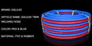 Flexible PVC&Rubber Twin Line Welding Hose pictures & photos