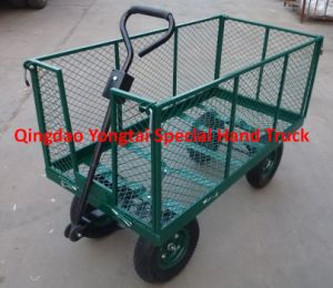Steel Mesh Garden Cart pictures & photos