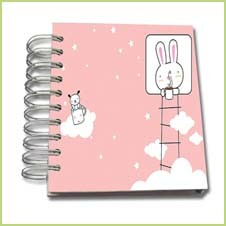 Embossed Logo Hardcover Notebook pictures & photos