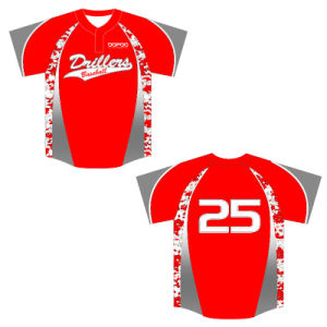 Custom Made Baseball Jersey Tops Shirt From Dopoo Sports pictures & photos
