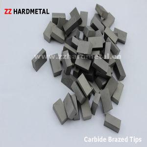 Tungsten Carbide Brazed Tips (E12) pictures & photos