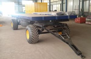 Farm Machinery Tipping Chassis/ End Tipping Trailer pictures & photos