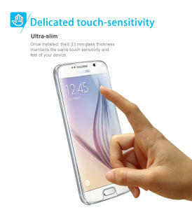 Customize Tempered Glass Protector for Samsung Galaxy S6 pictures & photos