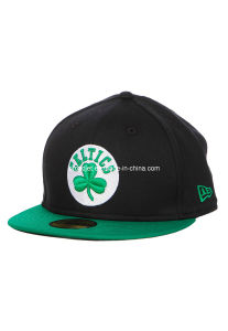 Celtics Clover Pattern Flat Cap