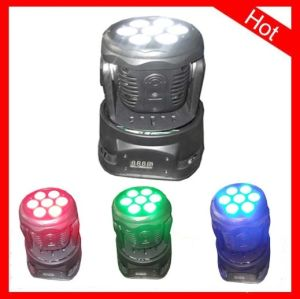Yuelight 7PCS*10W RGBW LED Mini Moving Head Stage Light pictures & photos