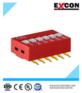 Key Switch with 6 Positions Excon Ra-06-R High Quality