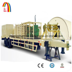 Long Type Super Span 240 with Generator Arch Steel Building Roll Forming Machine pictures & photos