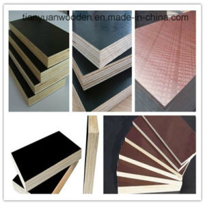Competitive Price Film Faced Plywood for Concrete Formwork pictures & photos