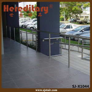Stainless Steel Tubular Handrail for Indoor Terrace (SJ-S321) pictures & photos