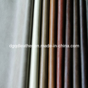 Classical Colors Bonded Furniture PU Leather (QDL-FB005) pictures & photos