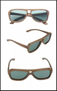 Latest Popular Design High Quality Wooden Sunglasses pictures & photos