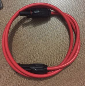 Mc4 Connector with 2.5/4/6mm Wire Harness Customization pictures & photos